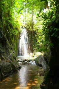 What Gap Yah photo album would be complete without a pretty waterfall?