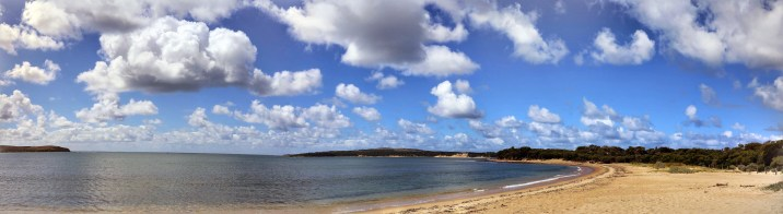 Another superlative Australian bech. It was difficult to do these majestic skies and rolling seas justice