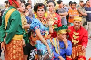 Local dress in Makassar