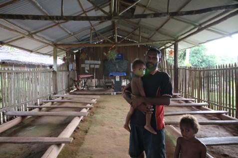 The Wagu teacher and his children