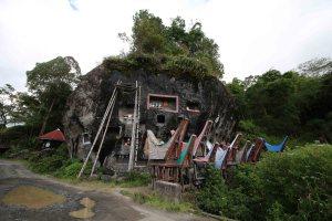 Burial site in Toraja