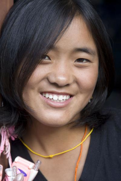 Beautiful Bhutan Women