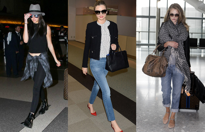 Get The Look Celebrity Airport Style Travel Style