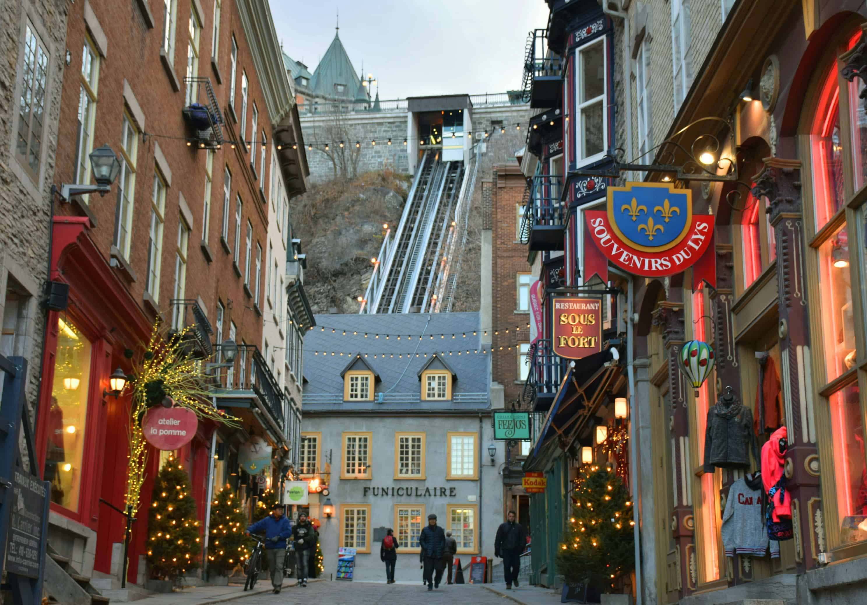 Fall Winter Background Wallpaper Quebec City The Best Place In North America To Visit For
