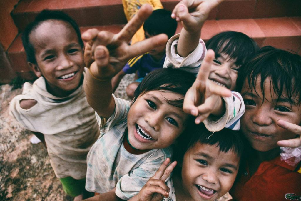 Volunteering abroad with kids