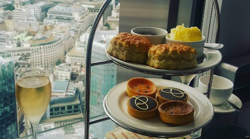 Celebrating High Tea Week with a Sky High View!