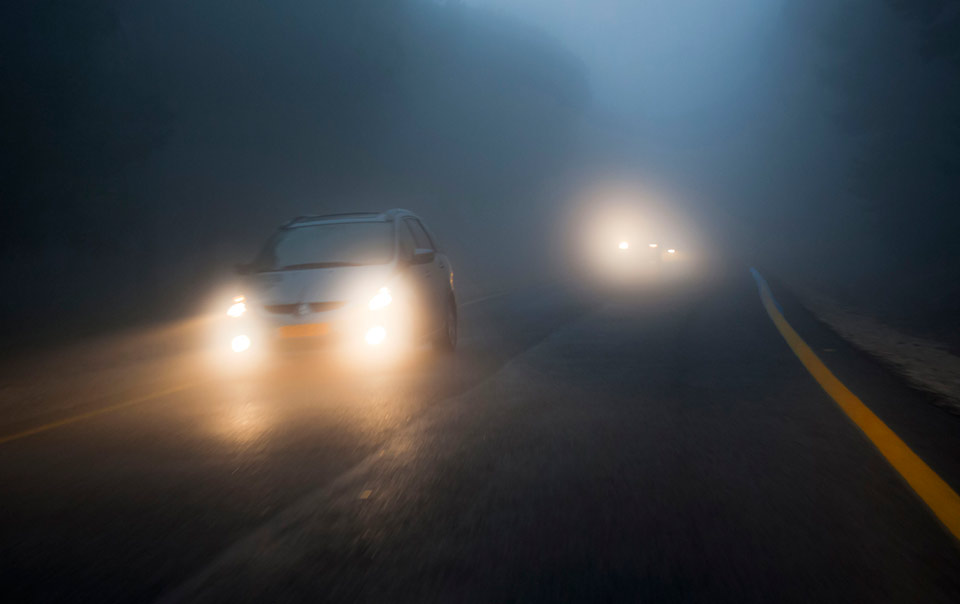 Dangerous Quotes Wallpapers Driving In Fog Safely Travelers Insurance