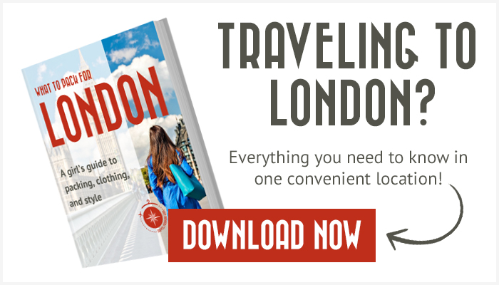 London Packing List Essentials to Bring on Your Trip