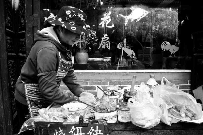 Street food in Dali, Yunnan, China