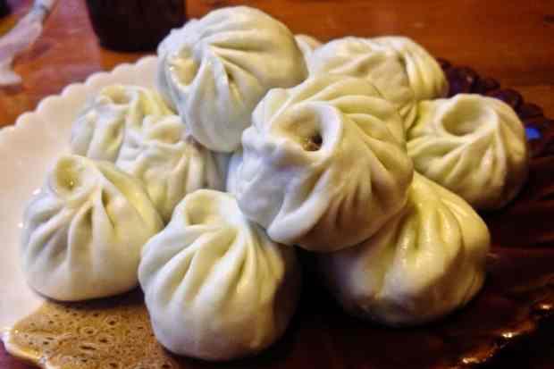Tibetan Yak Meat Dumplings (momo)