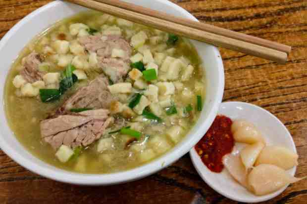 Mutton Stew (yang rou pao mo)