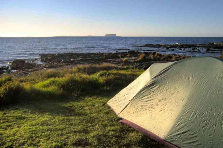 Camping in Tasmania