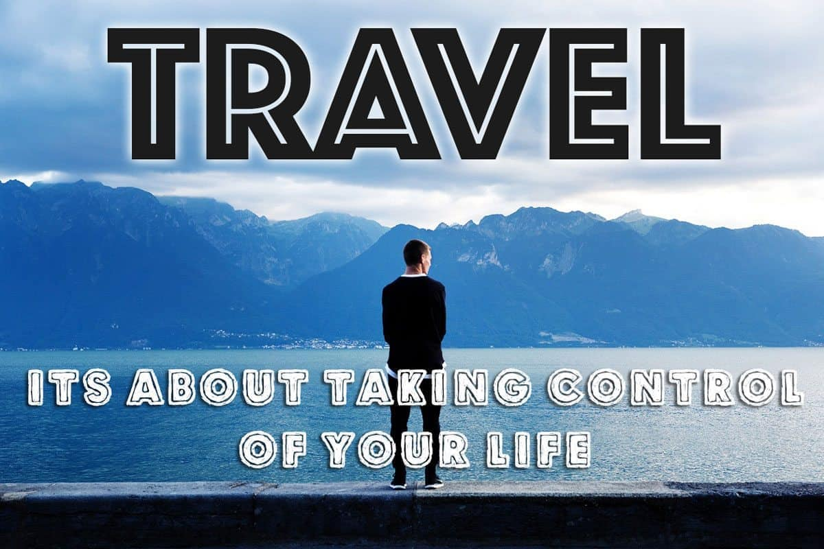 It's About Taking Control of Your Life