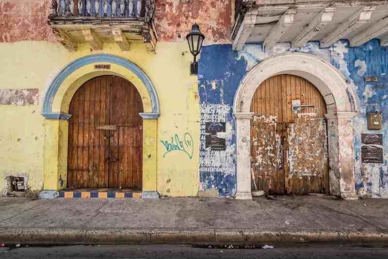 Buildings in Cartagena, Colombia