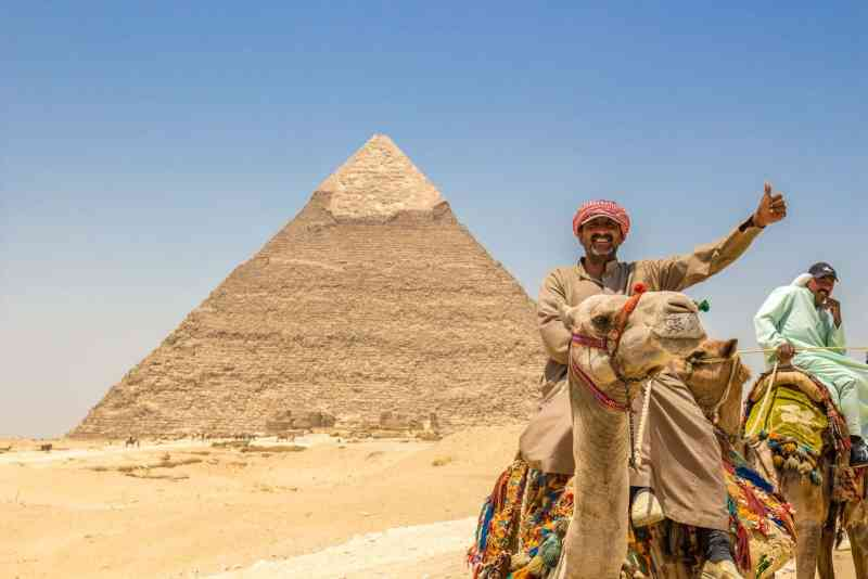 Photo of the Pyramids of Giza