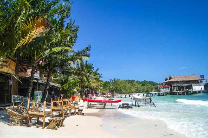 Photo of the island of Koh Rong