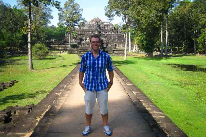 Photo of Author in Angkor Wat