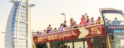 Big Bus Dubai Hop-On Hop-Off 24h Ticket - Dubai Open Bus Tours