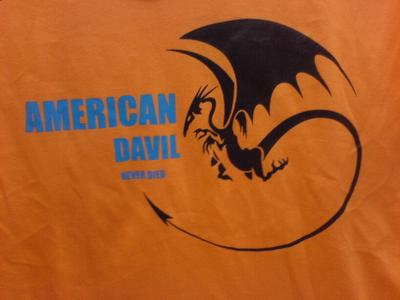 Engrish Tshirt  - American Davil