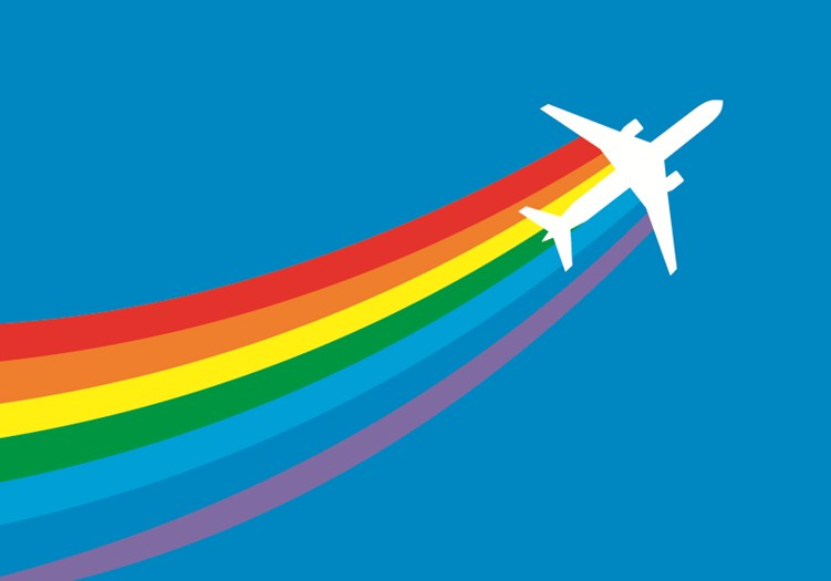 Airlines are Making Skies Friendlier for LGBTQ Fliers - Special Reports
