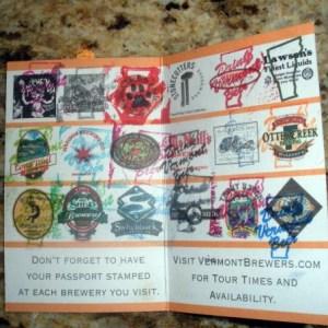 Vermont Brew Passport