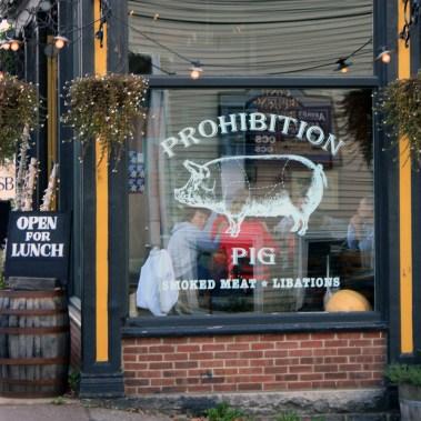 Prohibition Pig, Waterbury, Vermont