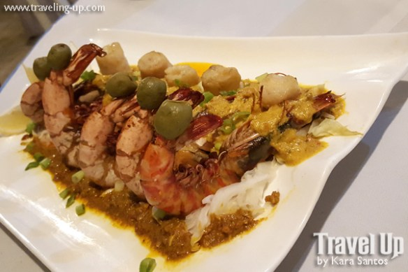 prawns in aligue sauce san antonio resort roxas city capiz