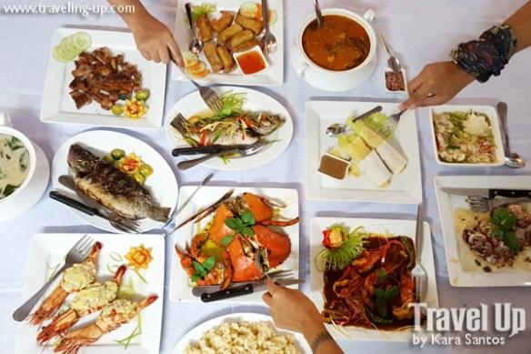 seafood dinner espacio verde roxas city capiz