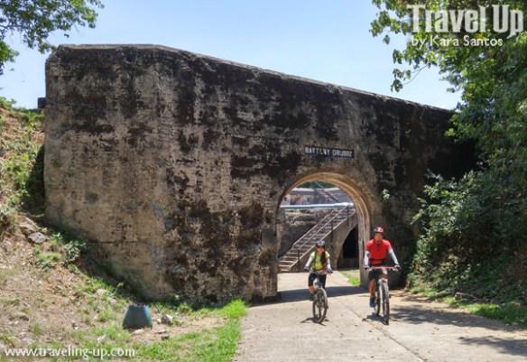 corregidor island philippines biking battery grubbs