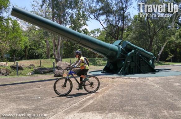 corregidor island philippines biking battery hearn