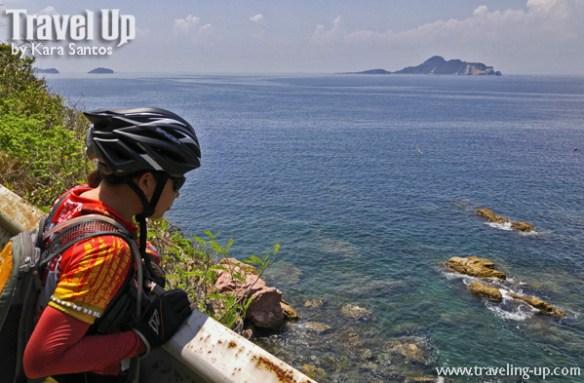 corregidor island philippines biking beach view overlooking