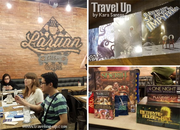 laruan atbp board game comics cafe maginhawa