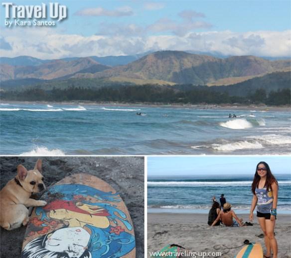 liwliwa zambales beach surfing