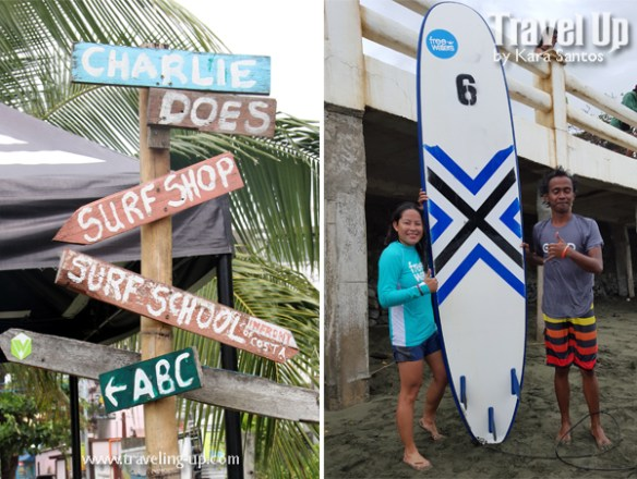 baler aurora surfing charlie does surf school