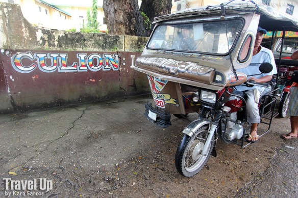 culion tricycle town