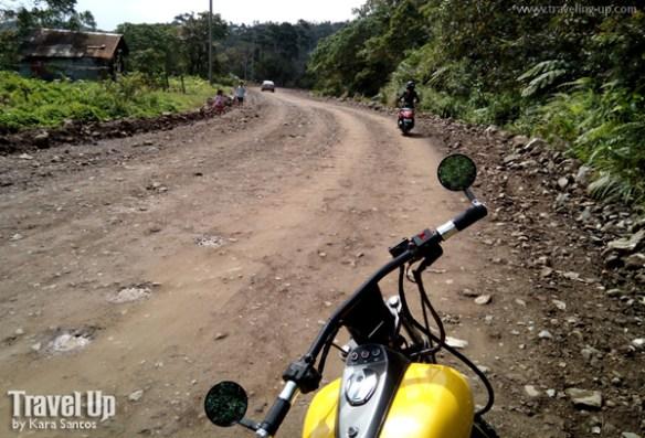 jariels peak infanta quezon rough road