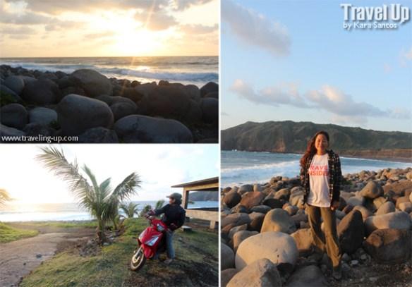 valugan boulder beach batanes motorcycle