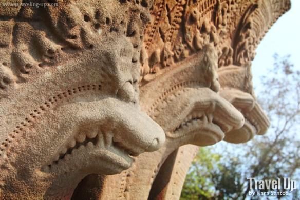 beng melea temple cambodia carvings