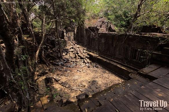 beng melea temple cambodia ruins