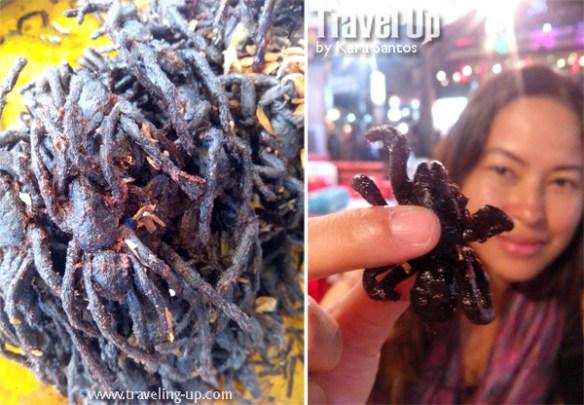 crispy spider siem reap cambodia