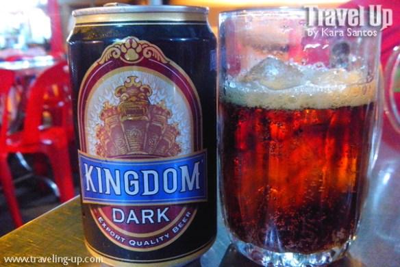 kingdom dark lager beer cambodia