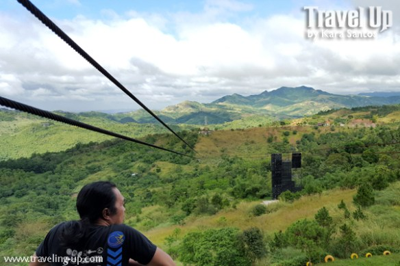 ten cents to heaven view of zipline mountains