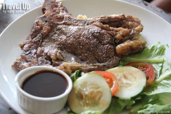 Beeffalo by HotRocks Marikina T-Bone steak