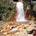 Red Rock Waterfalls near Dumaguete City