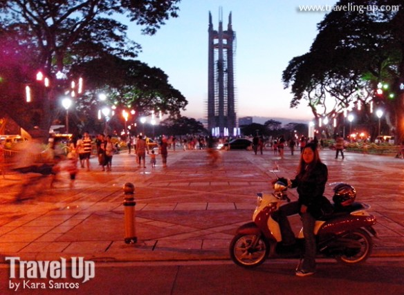 quezon city circle motorcycling travelup