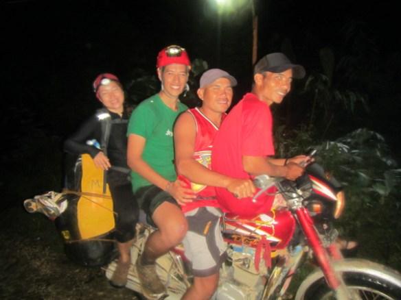 31. calbiga cave samar motorbike