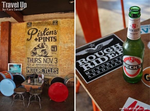 cafe racer cebu philippines motorcycle beer