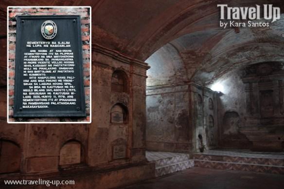 nagcarlan underground cemetery laguna