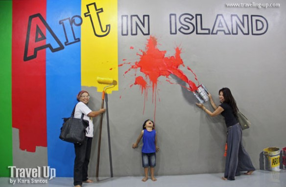 art in island 3D interactive museum cubao quezon city entrance