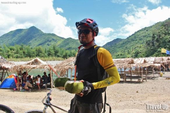 07. daraitan river biking buko juice